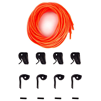 Ronix Ronix Lace Lock Kit ORANGE