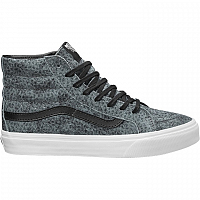 Vans SK8-HI SLIM (Pebble Snake) gray/black