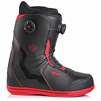 Deeluxe IDXHC BOA FOCUS TF BLACK/RED