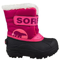 Sorel TODDLER SNOW COMMANDER Tropic Pink, Deep Blush