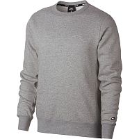 Nike M NK SB CREW ICON FLC ESSNL DK GREY HEATHER/BLACK