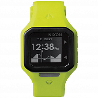 Nixon Supertide neon yellow