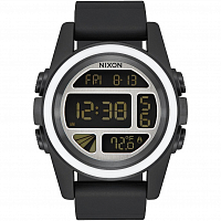 Nixon Unit BLACK/WHITE/SILVER