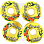 Freeride FREERIDE 6 WHEELS YELLOW