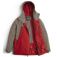 The North Face M LOSTRAIL JKT CEN RED/F BROWN (WGM)