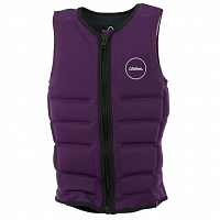 FOLLOW ENTREE CE IMPACT LADIES VEST PLUM