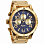 Nixon 48-20 Chrono GOLD/BLUE SUNRAY