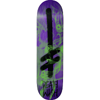 DEATHWISH GANG LOGO GREEN SMOKE DECK 8,5