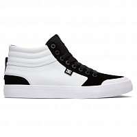 DC EVAN SMITH HI M SHOE WHITE/BLACK