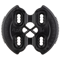 Burton 4X4 HINGE DISC BLACK