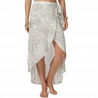 Rip Curl SHORELINES WRAP SKIRT OFF WHITE