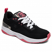 DC E.TRIBEKA SE J SHOE BLACK/PINK