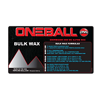 Oneball BULK X-WAX BASE PREP ASSORTED