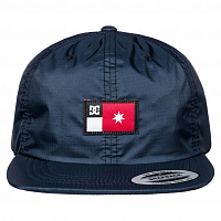 DC SKATE TECH HAT M HATS BLACK IRIS