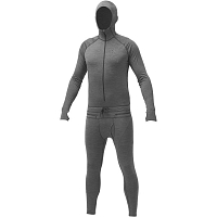 Airblaster Merino Ninja Suit NATURAL BLACK