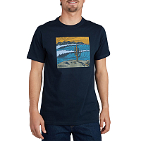 Billabong DESERTED TEE SS NAVY
