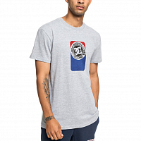 DC PETROL SS M TEES GREY HEATHER