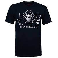 Krooked S/S DUDE NVY/WHT