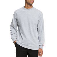 DC SHIELD LS TEE M TEES GREY HEATHER