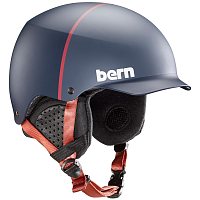 Bern BAKER MEN'S Matte Denim Hatstyle/Black Liner