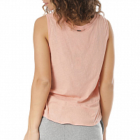 Rusty BARE V NECK TANK SHELL PINK