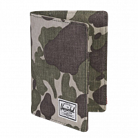 Herschel RAYNOR PASSPORT HOLDER RFID FROG CAMO