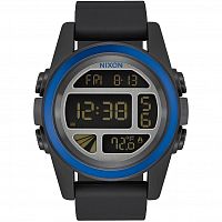 Nixon Unit Black/Blue/Gunmetal