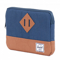 Herschel HERITAGE SLEEVE FOR IPAD AIR Navy/Tan Synthetic Leather