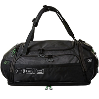 OGIO ENDURANCE 9.0 DUFFEL BAG BLACK/CHARCOAL