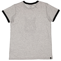 Nikita DUSK TEE RINGER WHITE HEATHER
