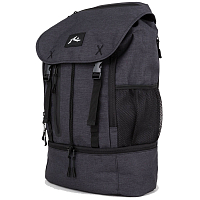 Rusty EXPLORER BACKPACK BLACK STEALTH MARLE