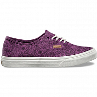 Vans AUTHENTIC SLIM (Motif Floral) grape juice/marshmallow