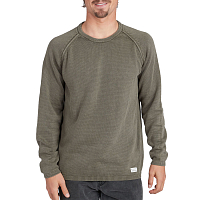 Billabong WAVE WASHED SWEATER MILITARY