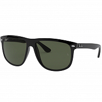RAY BAN RB4147 BLACK/GREEN POLARIZED