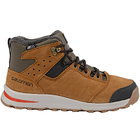 Salomon UTILITY TS CSWP J SWAMP/RAWHIDE LTR/LAVA ORANGE