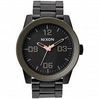 Nixon Corporal SS MATTE BLK/INDUSTRIAL GREEN