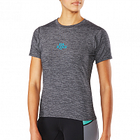 Dakine WOMEN'S DAUNTLESS LOOSE FIT S/S BLACK HEATHER