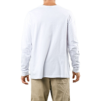 Rusty SURF TRASH LONG SLEEVE TEE White