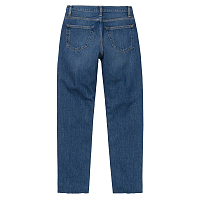 Carhartt WIP W' PAGE CARROT ANKLE PANT BLUE (DARK STONE WASHED)