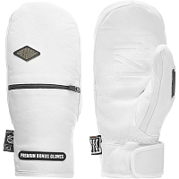 BONUS GLOVES LEATHER White