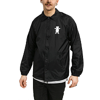Grizzly OG BEAR COACHES JACKET Black / Tiffany