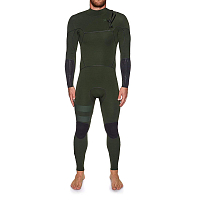 Hurley M ADVANTAGE MAX 4/3 FULL SUIT BLACK/WHITE or NEWSPRINT