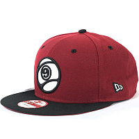 Sector9 9 BALL SNAPBACK RED