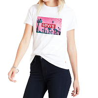 Levi's® THE PERFECT TEE PINK PALM TREE PH