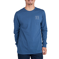 Billabong UNITY TEE LS DENIM BLUE