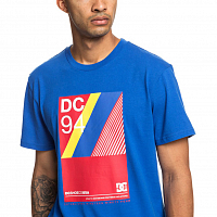 DC TRACKED SS M TEES Nautical Blue