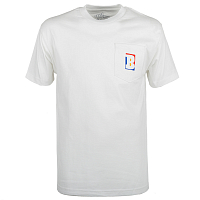 Baker CAPITAL B WHT POCKET TEE White