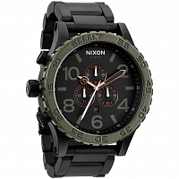 Nixon 51-30 Chrono MATTE BLACK/INDUSTRIAL GREEN