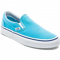 Vans Classic Slip-On cyan blue/true white