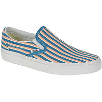 Vans Classic Slip-On (Multi Stripes) teal/peach nectar